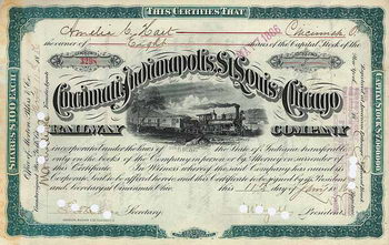 Cincinnati, Indianapolis, St. Louis & Chicago Railway