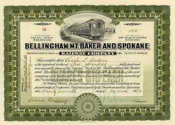 Bellingham, Mt. Baker & Spokane Railway