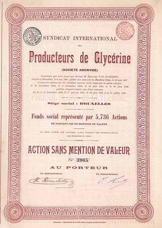 Syndicat International des Producteurs de Glycérine S.A.