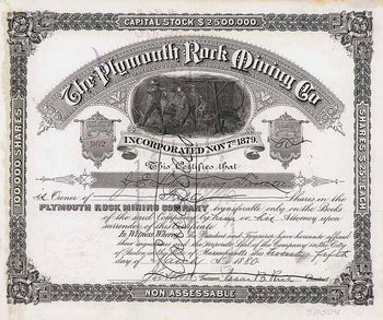 Plymouth Rock Mining Co.