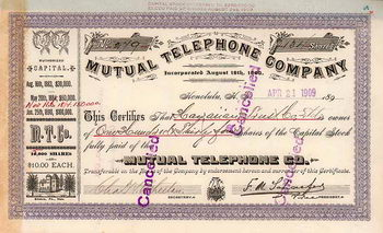 Mutual Telephone Co.