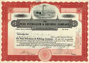 Penn Petroleum & Refining Co.