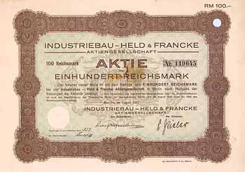 Industriebau - Held & Francke AG