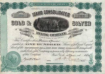 Idaho Consolidated Gold & Silver Mining Co.