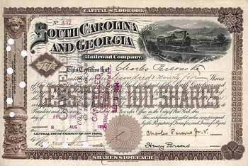 South Carolina & Georgia Railroad
