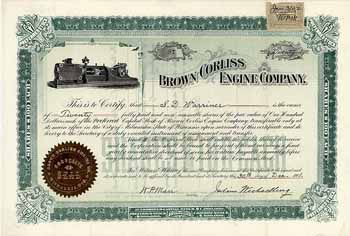 Brown Corliss Engine Co.