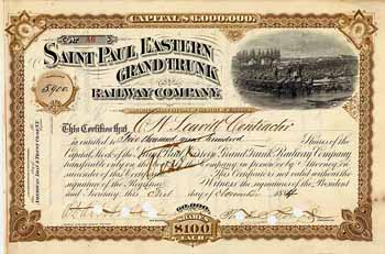 Saint Paul Eastern Grand Trunk Railway