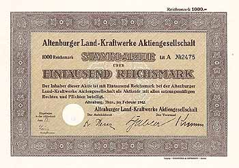 Altenburger Land-Kraftwerke AG