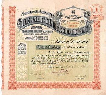 S.A. The American Quebracho Company