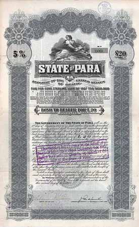 State of Para 5 % Sterling Loan of 1907