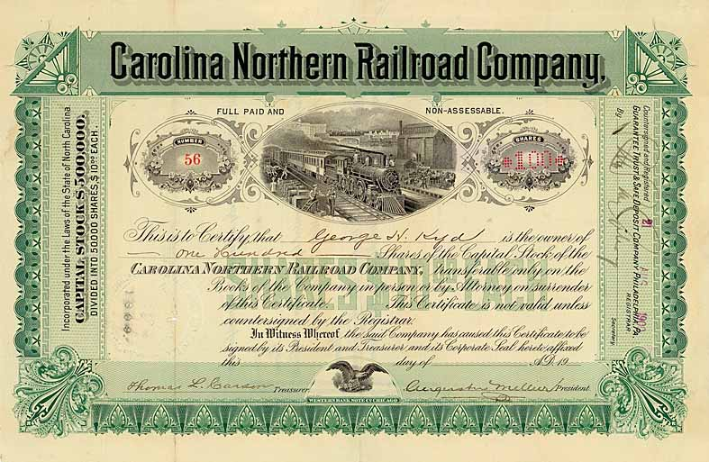 Carolina Northern Railroad
