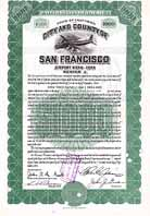 City and County of San Francisco - Airport Bond 1949