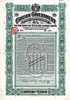 Chilian Government (Coquimbo Railway)