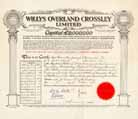 Willys Overland Crossley Ltd.