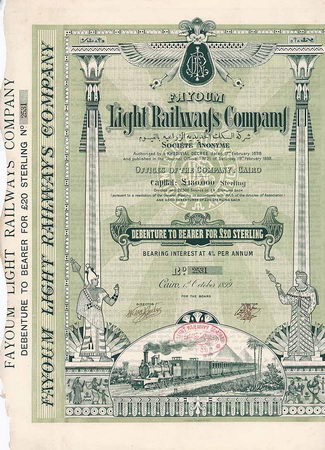 Fayoum Light Railways Co. S.A.